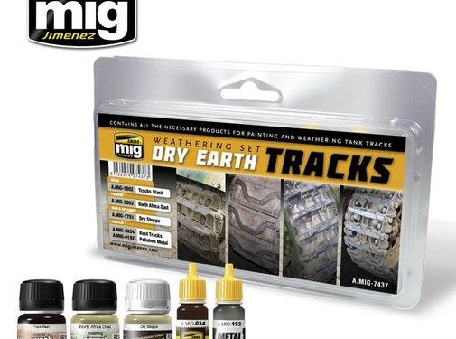 AMMO by Mig Jimenez (AMM) DRY EARTH TRACKS