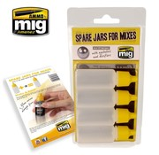 AMMO by Mig Jimenez (AMM) SPARE JARS FOR MIXES