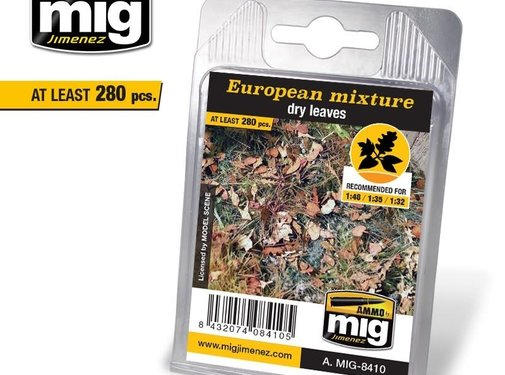AMMO by Mig Jimenez (AMM) EUROPEAN MIXTURE - DRY LEAVES