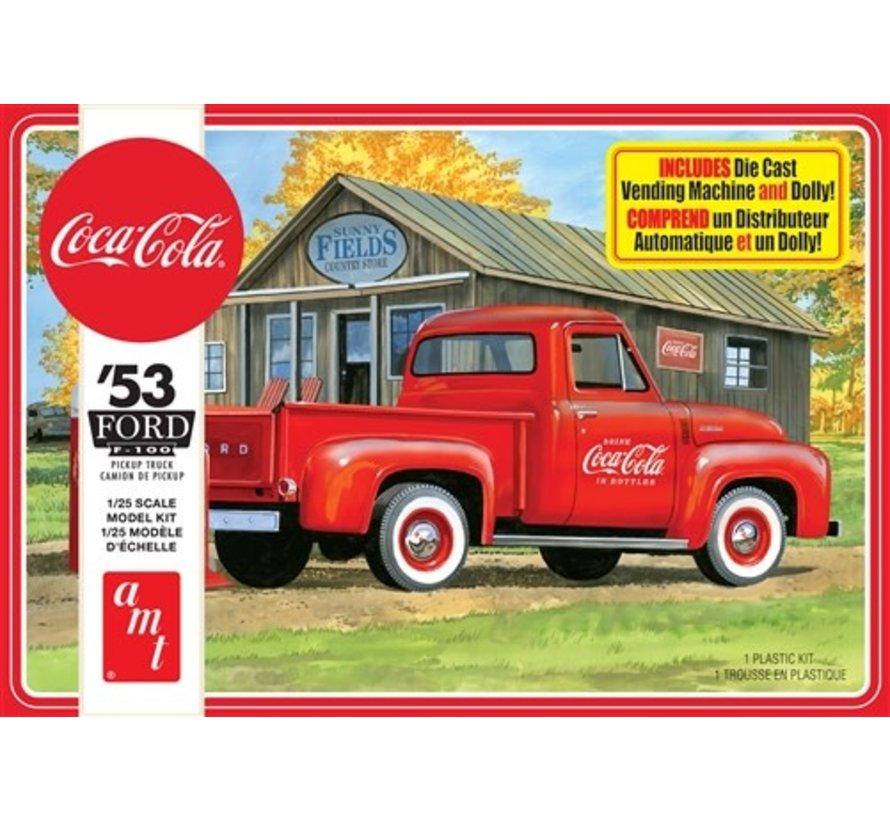 1144M Ford 1953 f-150 Pickup, Coca Cola 2T 1:25 plastic model kit
