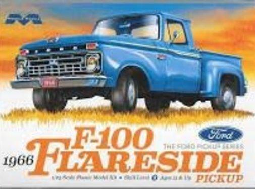Moebius (MOE) Ford F100 Flareside Pickup 1:25