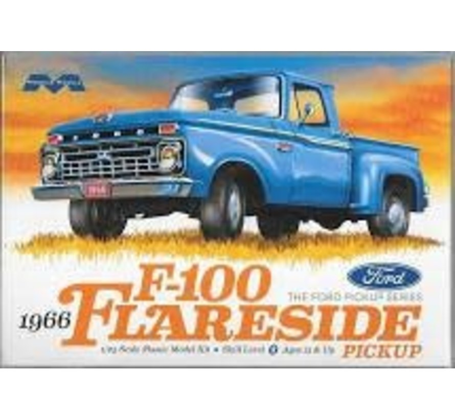 1232  Ford 1966 F-100 Flareside Pickup 1/25 plastic model kit