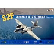 Kinetic Models (KIN) 48024 Grumman S-2F S-2E S-2G Tracker Anti-Sub, NT 1:48
