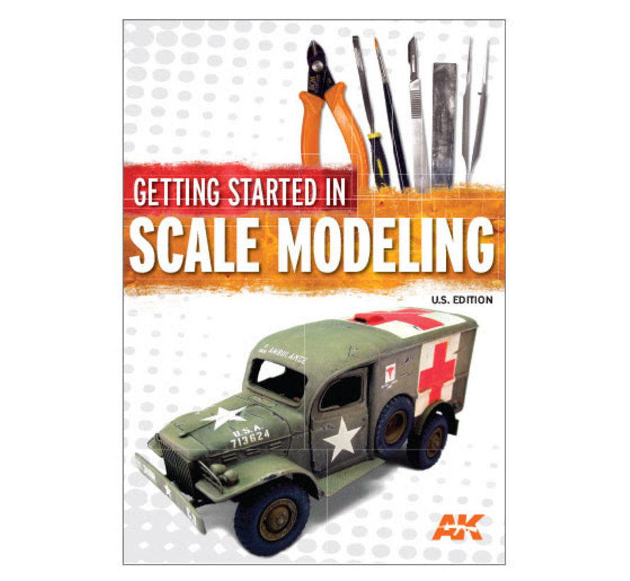 12818 Getting Started in Scale Modeling U.S. Edition Softcover 136 pages