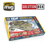 AMMO by Mig Jimenez (AMM) IDF VEHICLES SOLUTION BOX