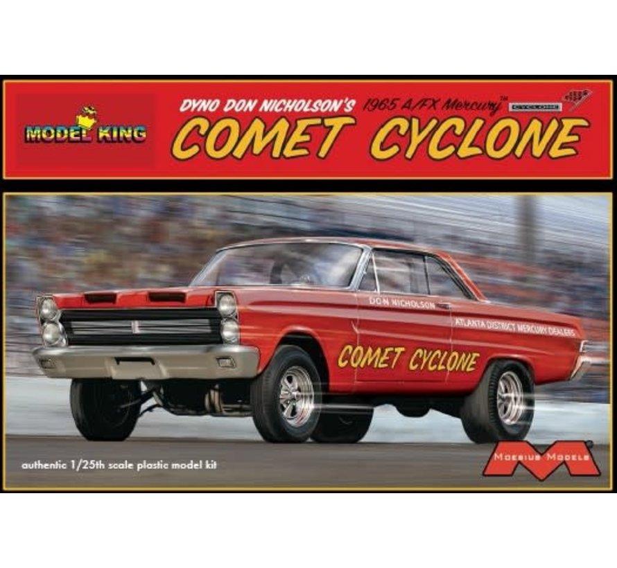 1238 1/25 Dyno Don Nicholson's 1965 A/FX Mercury Comet Cyclone Drag Car (Ltd Prod)
