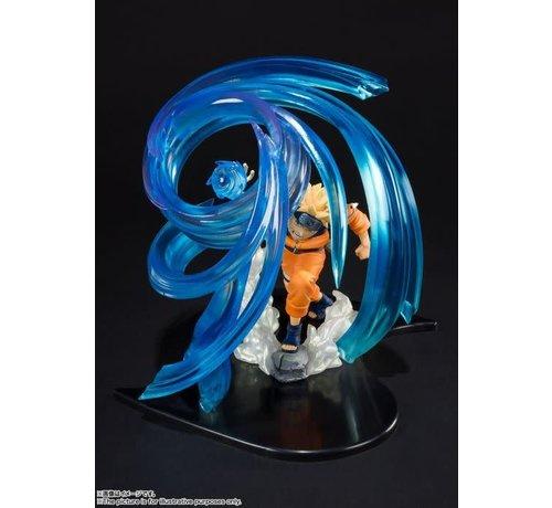 """Bandai Shokugan BAS57541 Naruto Uzumaki -RASENGAN- KIZUNA Relation """"NARUTO SHIPPUDEN"""", Bandai FiguartsZERO"""