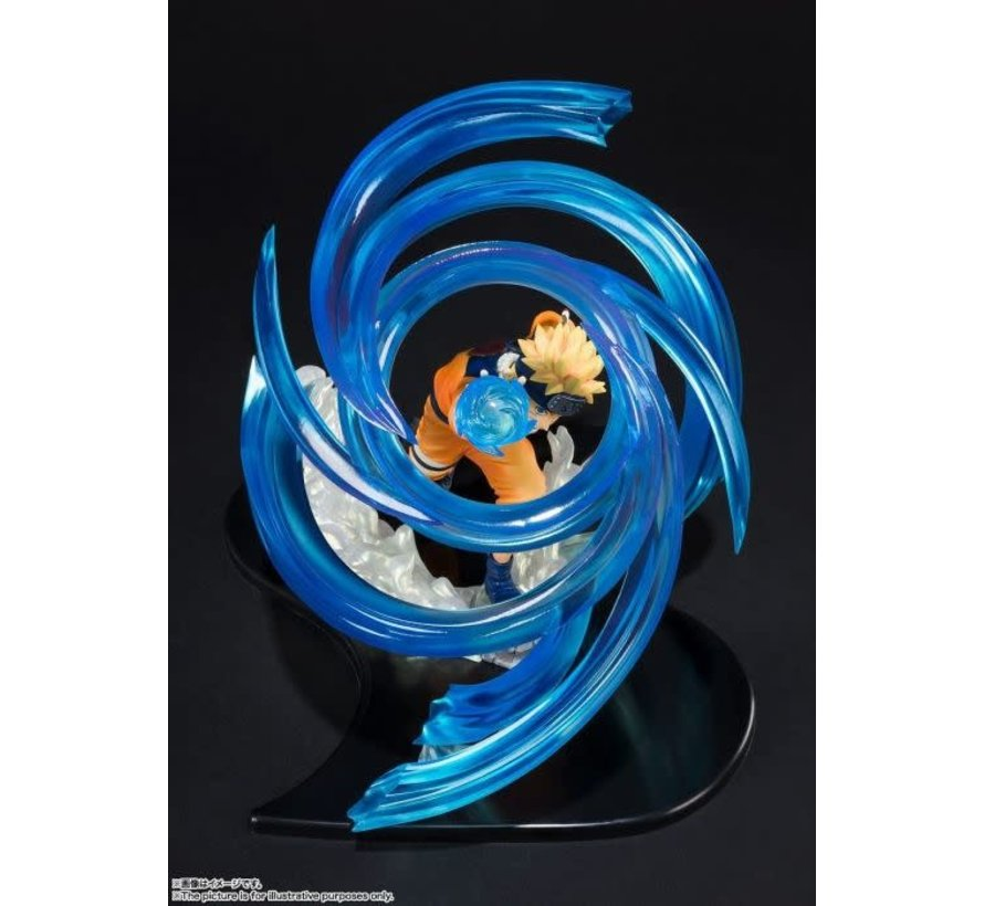 """BAS57541 Naruto Uzumaki -RASENGAN- KIZUNA Relation """"NARUTO SHIPPUDEN"""", Bandai FiguartsZERO"""