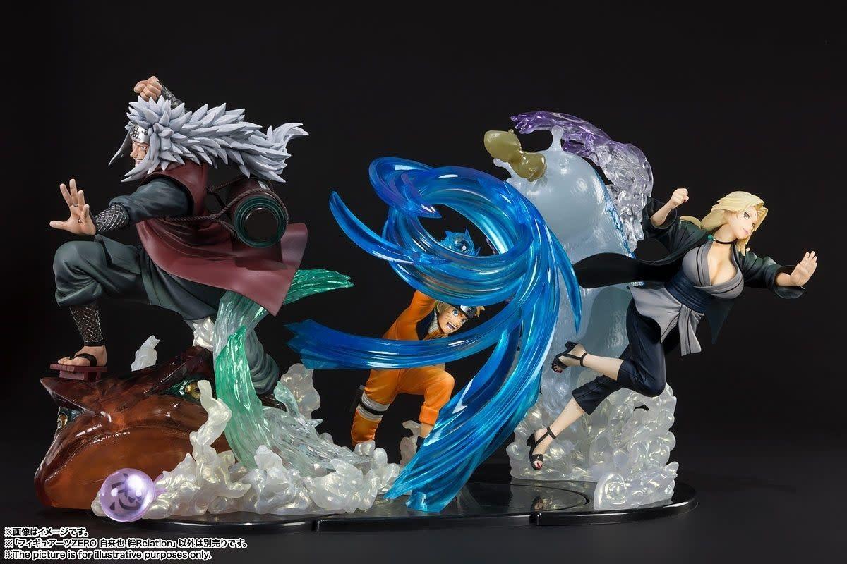 Naruto figure Jiraiya Kizuna Relation FiguartsZERO BANDAI New No box