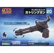 Kotobukiya - KBY MW20 - MW20R  MSG WEAPON UNIT 20 GATLING GUN