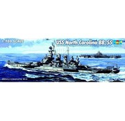 Trumpeter Models (TSM) 05734 USS N Carolina BB-55 1/700