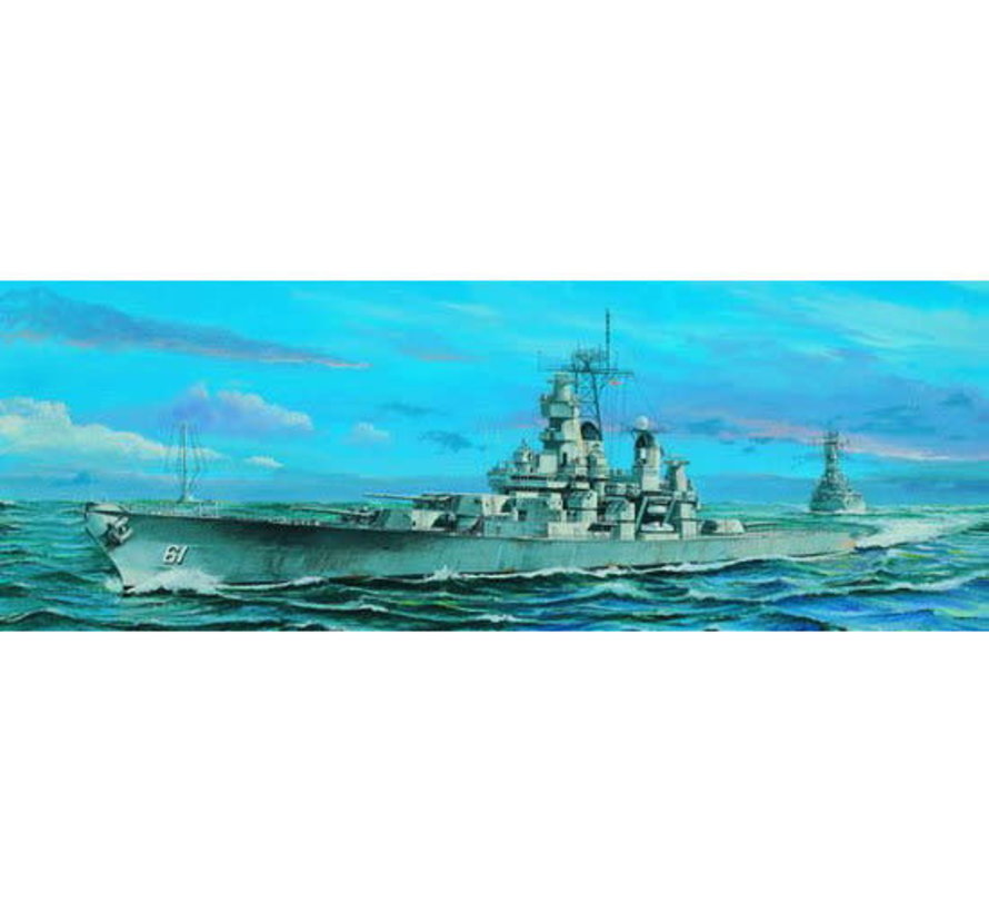 05701 U.S.S. Iowa BB61 Battleship 1/700