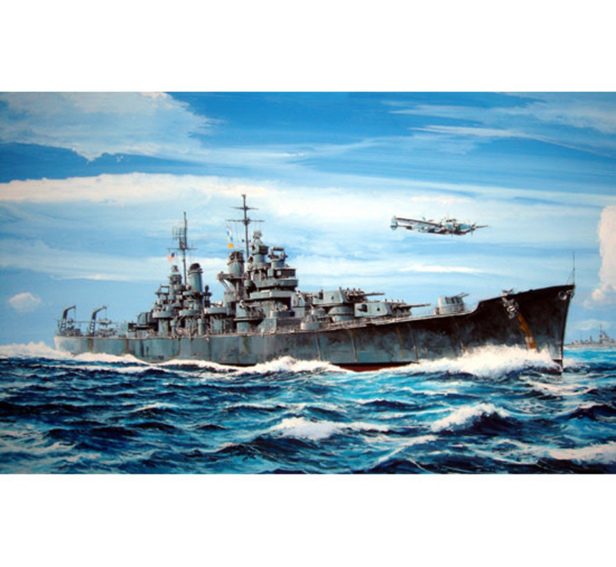 05724 USS Baltimore Cruiser '43 1/700