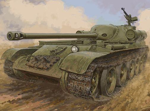 Trumpeter Models (TSM) Soviet SU-102 SPA 1/35