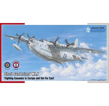 Special Hobby (SHY) Short Sunderland Mk V Flying Boat Aircraft  1:72
