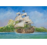 Zvezda (ZVE) Pirate Ship Black Swan, 1:72 model kit