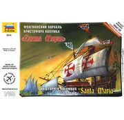 Zvezda (ZVE) Christopher Columbus Flagship Santa Maria 1:350 model kit