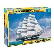 Zvezda (ZVE) Krusenstern Sailing Ship 1:200 model kit
