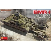 MNA - MINIART MODELS Soviet BMR-1 LATE MOD. WITH KMT-7 1:35 model kit