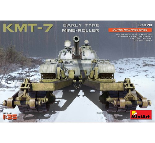 MiniArt Models (MNA) 37070 KMT-7 EARLY TYPE MINE-ROLLER  1:35