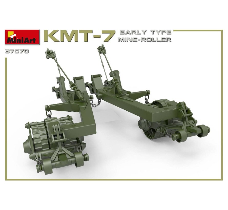 37070 KMT-7 EARLY TYPE MINE-ROLLER  1:35