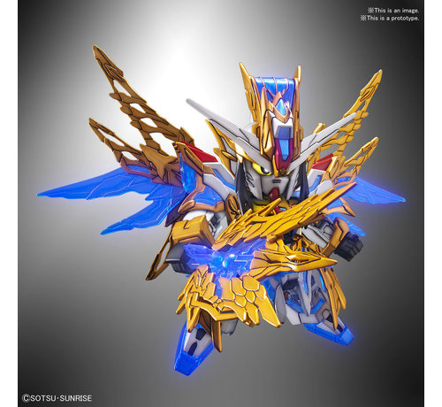 "BANDAI MODEL KITS 5058185  Zhuge Liang Freedom Gundam  ""SD Sangoku Soketsuden"", Bandai SD (Preorder 10/2019)"