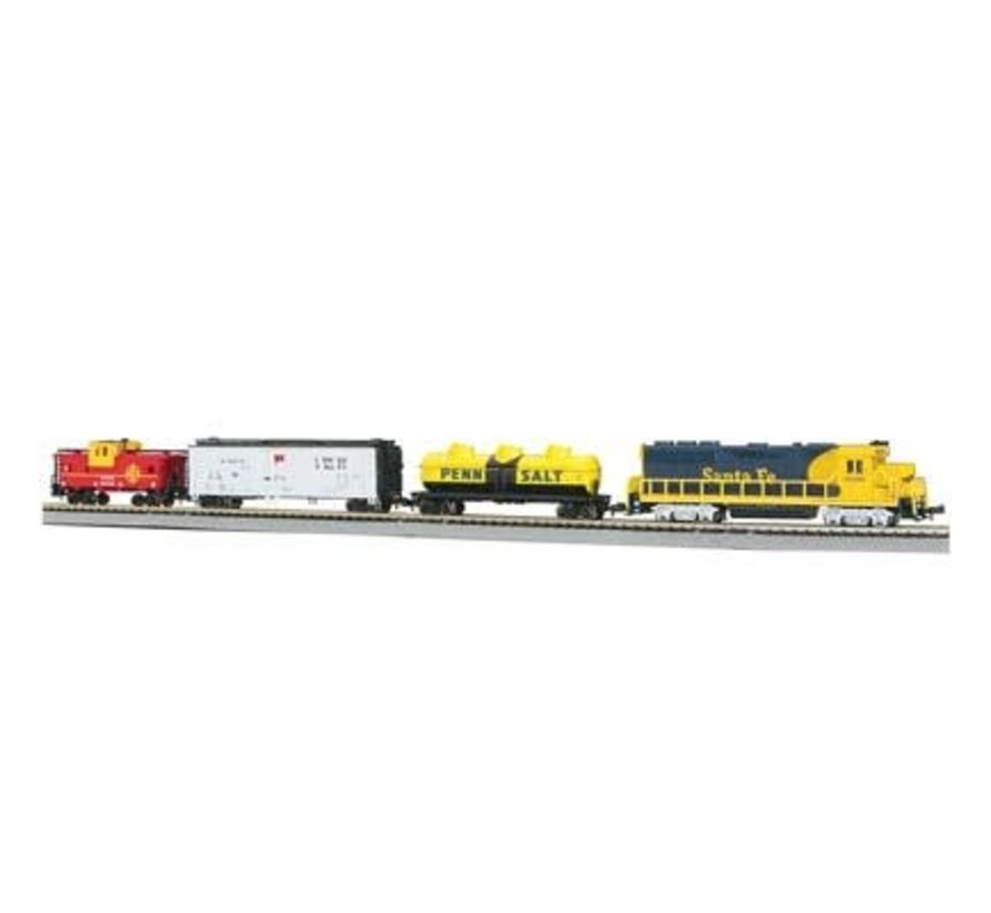 24013 N scale Thunder Valley Train Set