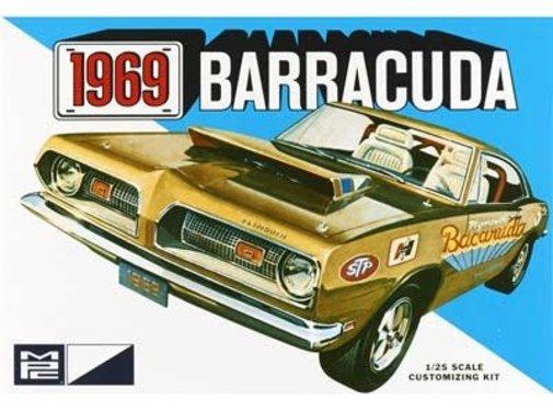 MPC (MPC) Plymouth 1969 Barracuda 1:25