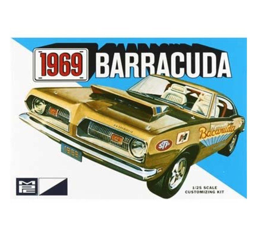 832 Plymouth 1969 Barracuda 1:25