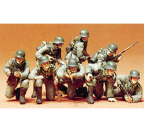 Tamiya (TAM) 865- 35061 German Panzer Grenadiers Plastic Model 1:35