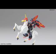 """BANDAI MODEL KITS #128 Master Gundam & Fuunsaiki """"G Gundam"""", Bandai 1/144 HGFC"""