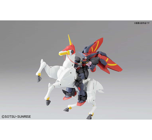"""BANDAI MODEL KITS 5057747 #128 Master Gundam & Fuunsaiki """"G Gundam"""", Bandai 1/144 HGFC"""