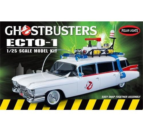 Polar Lights (PLL) 914 Ghostbusters Ecto-1, Snap Kit 1/25