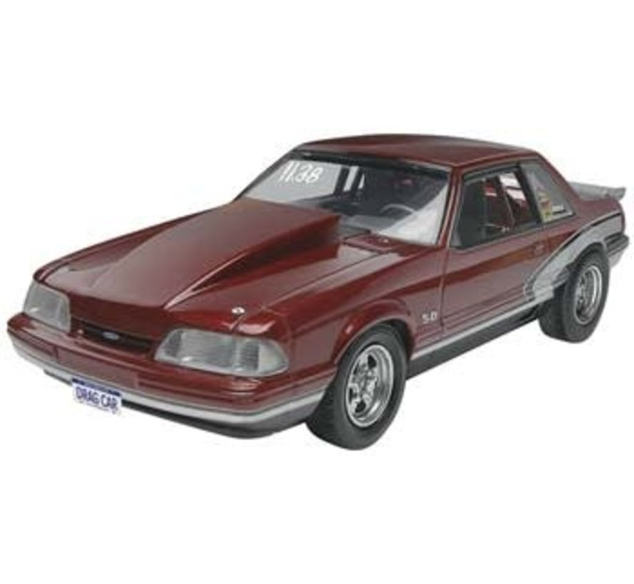 854195 Ford 1990 Mustang LX 5.0 DR 1:25
