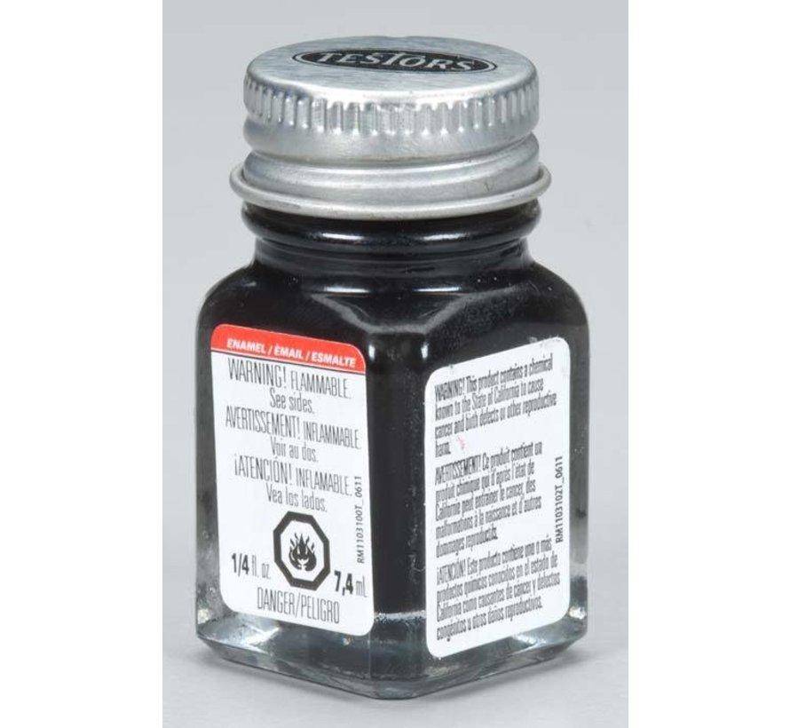 1139TT Enamel 1/4oz SemiGloss Black