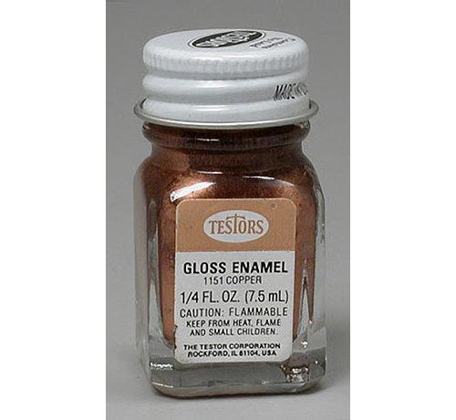 Testors (TES) 704- 1151TT  Enamel 1/4 oz Copper