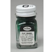 Testors (TES) 704- 1171TT  Enamel 1/4oz Flat Beret Green