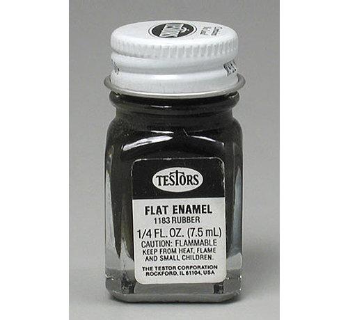 Testors (TES) 704- 1183TT Flat Rubber 1/4 oz