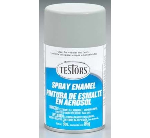 Testors (TES) 704- 1226T  Spray 3oz Dark Aircraft Gray