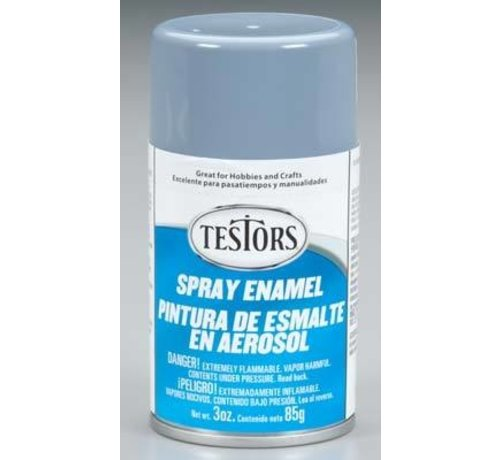 Testors (TES) 704- 1237T Spray Primer Semi-Gloss 3 oz