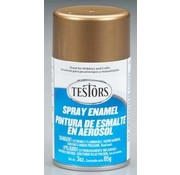 Testors (TES) 704- 1244T Spray 3oz Gold