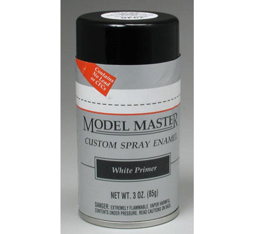 (D)  2948 Model Master Car Spray White Primer