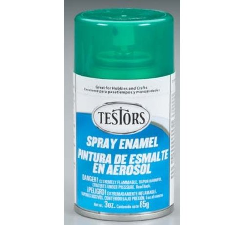 Testors (TES) 704- 1601 Spray 3oz Candy Emerald Green