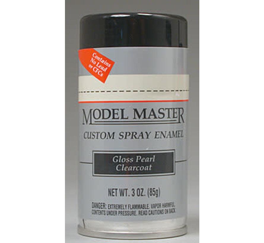 (D)  2944 Model Master Car Spray Gloss Pearl Clear