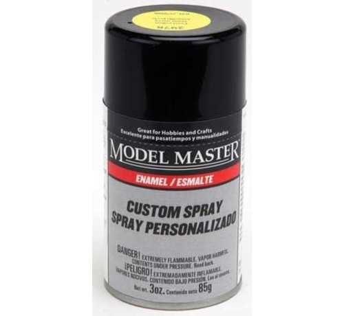 Testors (TES) 704- (D)  2978 MM 3oz Pearl Yellow Spray (G)