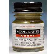 TES - Testors 4672 Model Master Acryl Gloss 1/2oz Brass