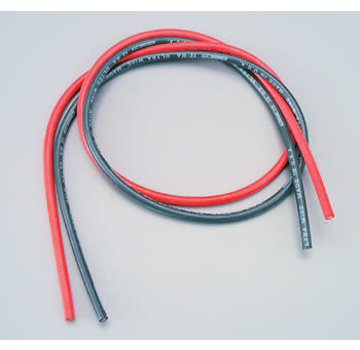 W.S. Deans (WSD) Silicone Wire 12-Gauge Red/Black 2