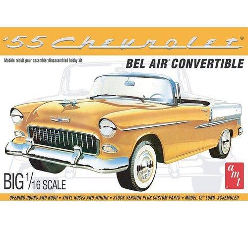 AMT Models (AMT) 1134 Chevy 1955 Bel Air Convertible 1/16