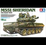 Tamiya (TAM) 865- U.S. Airborne Tank M551 Sheridan,Vietnam War 1/35