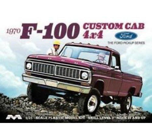 Moebius (MOE) 1230 Ford 1970 F-100 Custom Cab 4x4 1:25